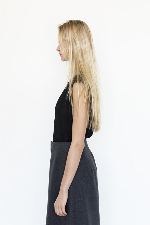 Priscavera Silk Sleeveless Top