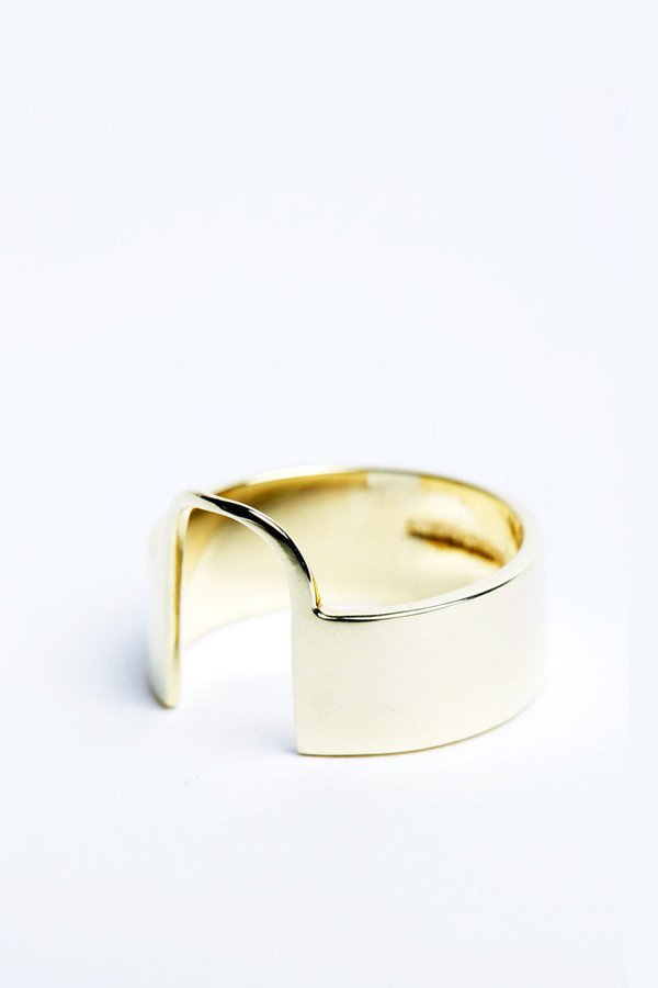 Sayaka DavisGold Sonia Ring