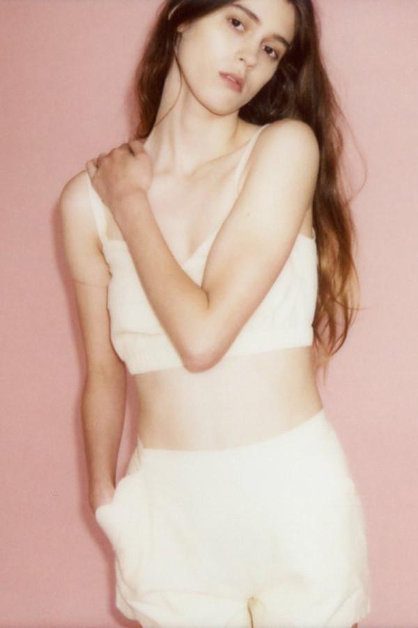 Samantha Pleet Wave shorts - Ivory