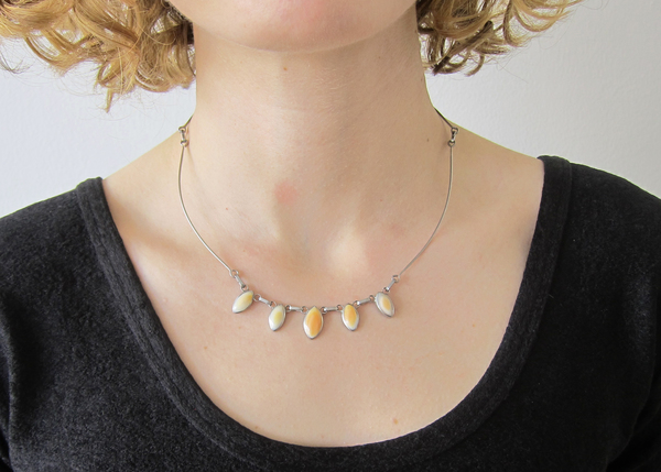Double Sided Vintage Necklace