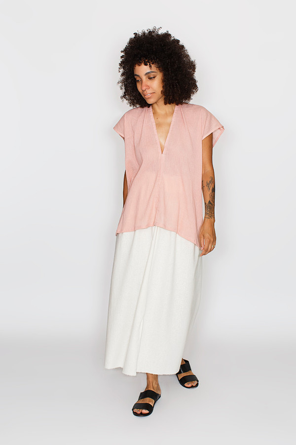 Sale! Everyday Top, Cotton Gauze in Clay