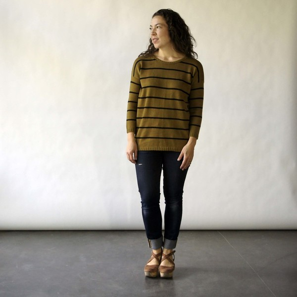 Doris Sweater in Citron