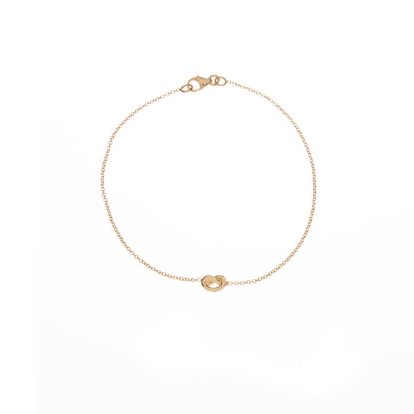 Ariel Gordon 14K Love knot bracelet