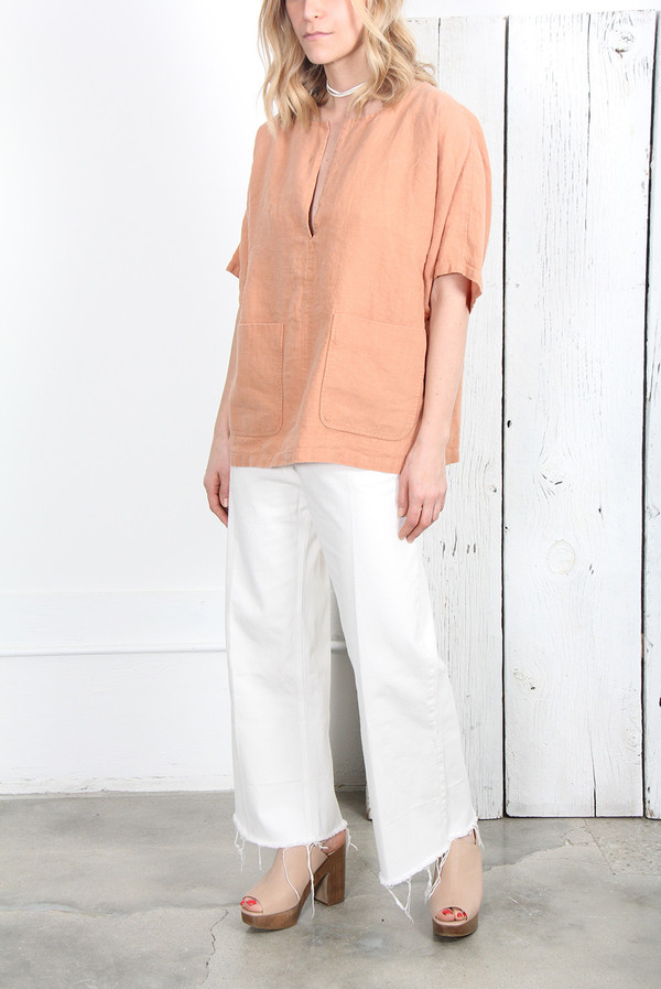 Rachel Comey MARVEL LINEN TOP