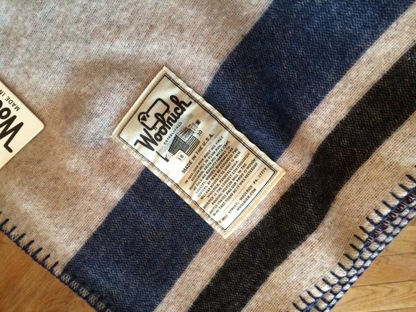 Woolrich Americana Jacquard Blanket