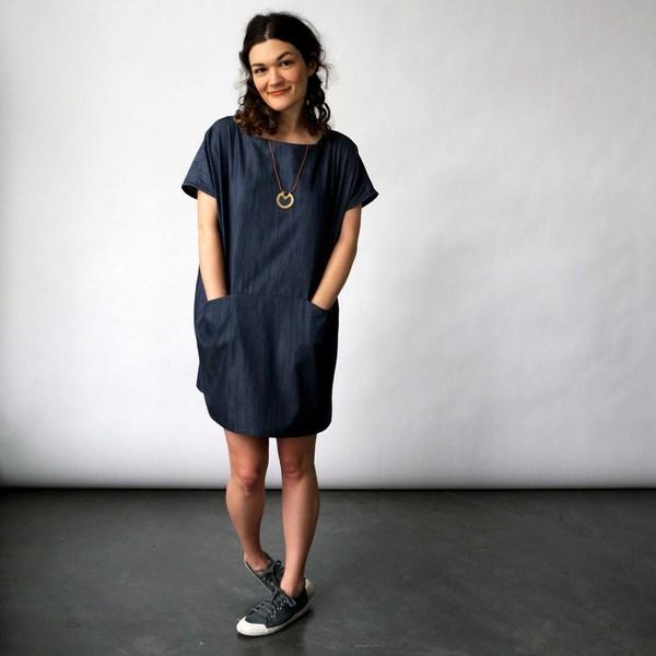 Lu. Dress No. 1 in Chambray Union