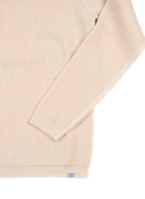 Norse Projects Lauge Cotton Fine Waffle Ecru