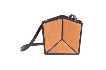 Imago-A Nº20 PENTATONIC BAG, CARAMEL + BLACK