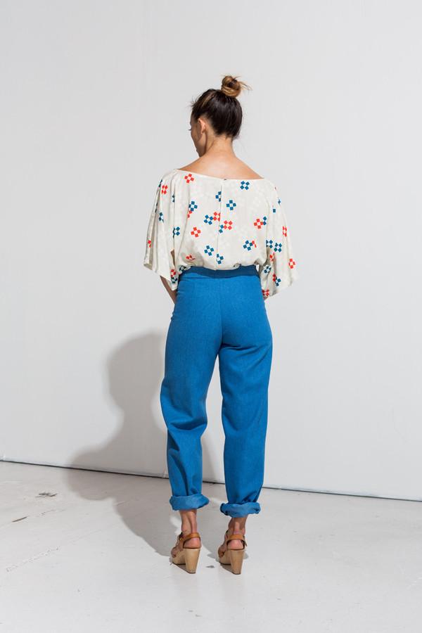 Nahanni Arntzen Daniel pants -blue denim