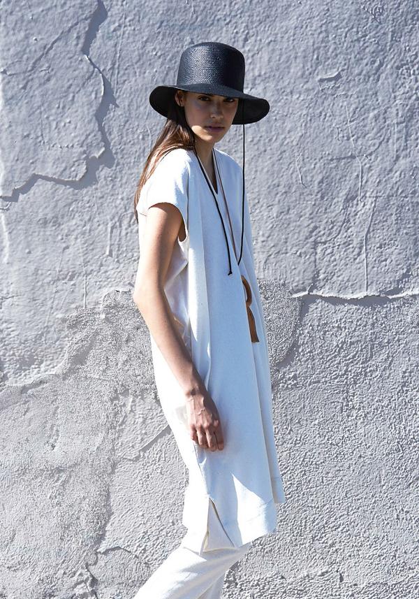 Atelier Delphine Grain Crescent Dress