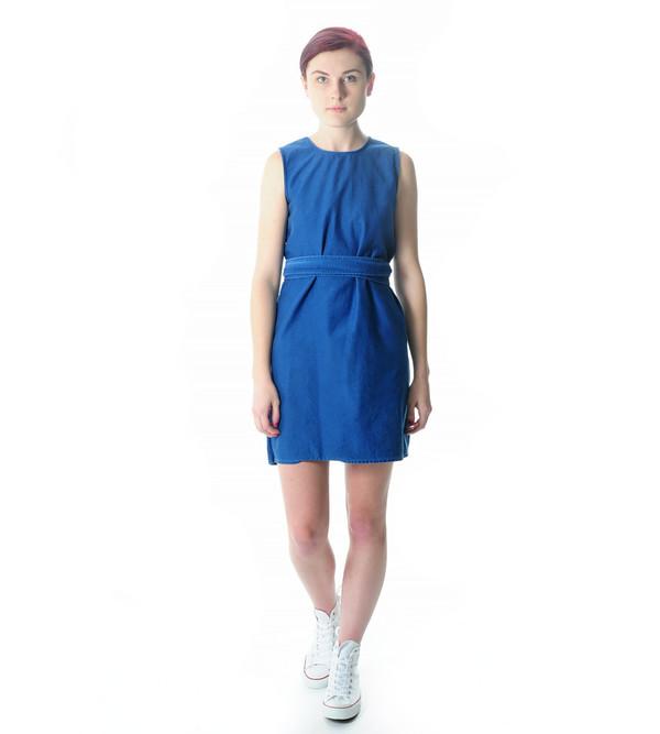 Caron Callahan Indigo Hadley Dress