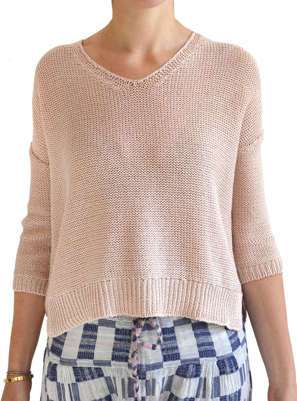 Demylee Gemma Body V-Neck Sweater