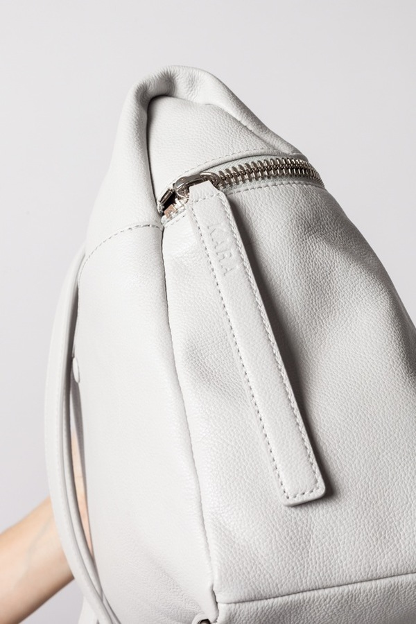Kara Backpack, Large - light grey