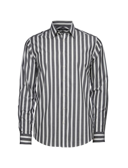 Men's Tiger of Sweden Steel 8 Cotton Shirt | Stripes