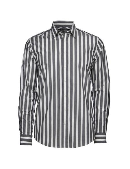 Men's Tiger of Sweden Steel 8 Cotton Shirt | Stripes