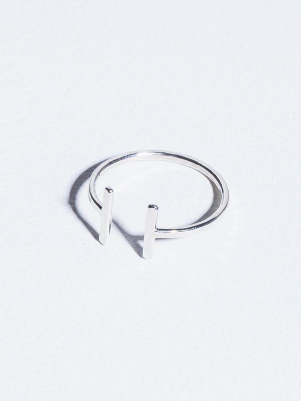 STEFANIE SHEEHAN Open Ring Silver