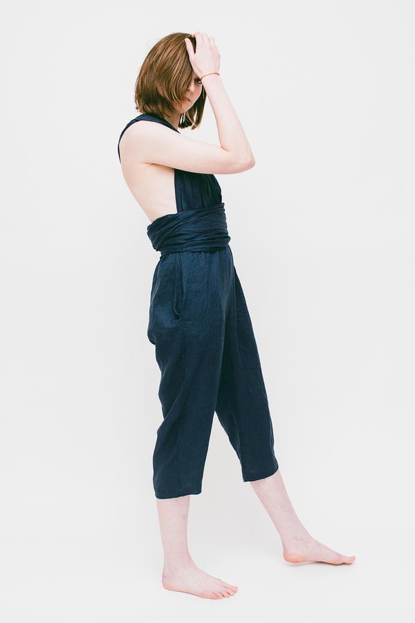 Lauren Winter Sash Jumpsuit