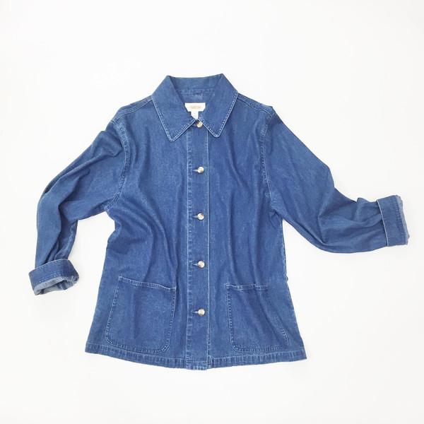 Johan Vintage Lightweight Denim Work Jacket