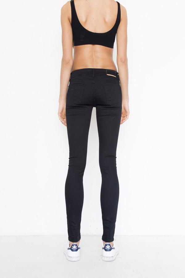 Thvm Denim Skinny Jean - Black