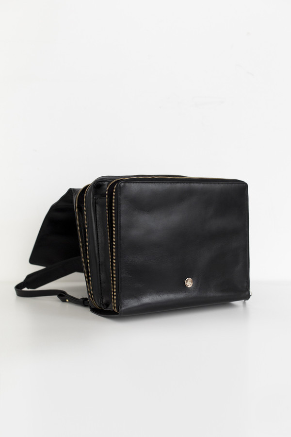 Royal Republiq Leather Raf Backpack