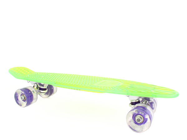 "Blacklight Alien 22"" Complete Skateboard"