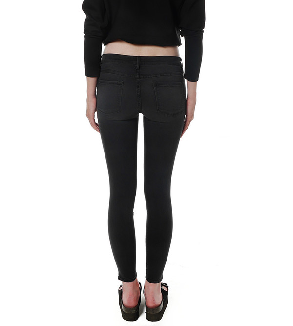 FRAME Denim Le Skinny Satine in St. Quintin