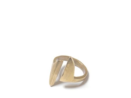 Seaworthy Ceylon Brass Ring