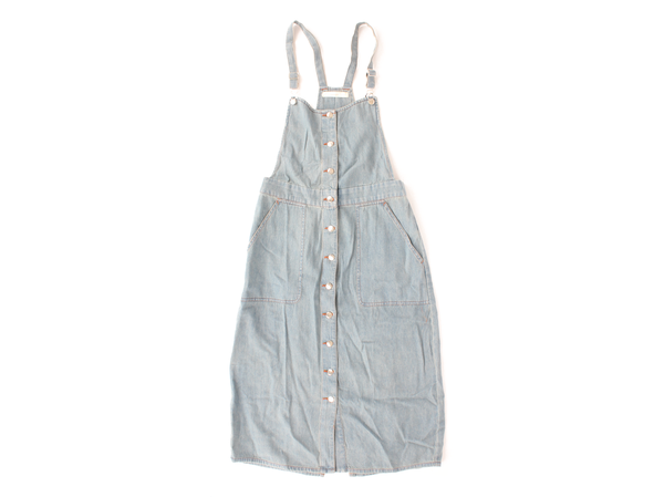 Capulet Front Button Overall Dress