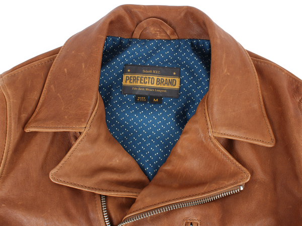 Schott Italian Lambskin Moto Jacket