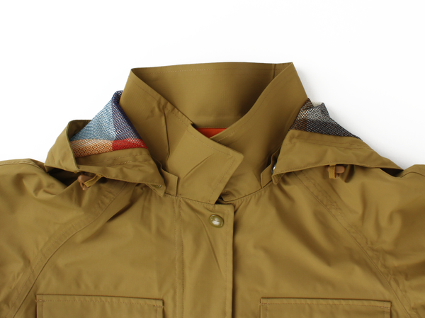 Woolrich WPB Cocoon Rain Coat