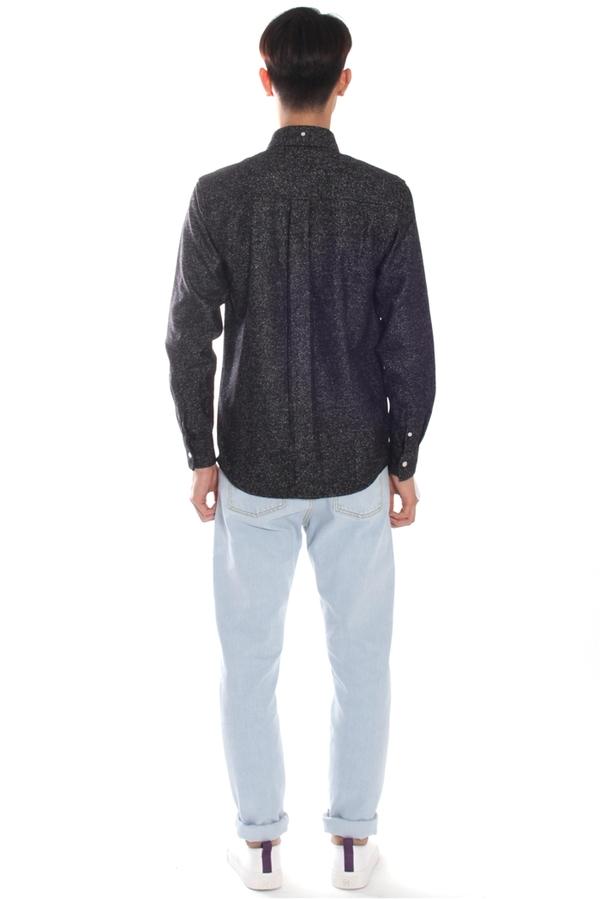Men's Soulland Tom Shirt Black