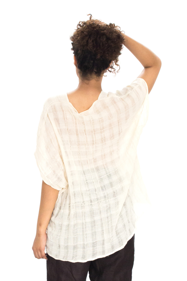 Evens Cotton Gauze Top