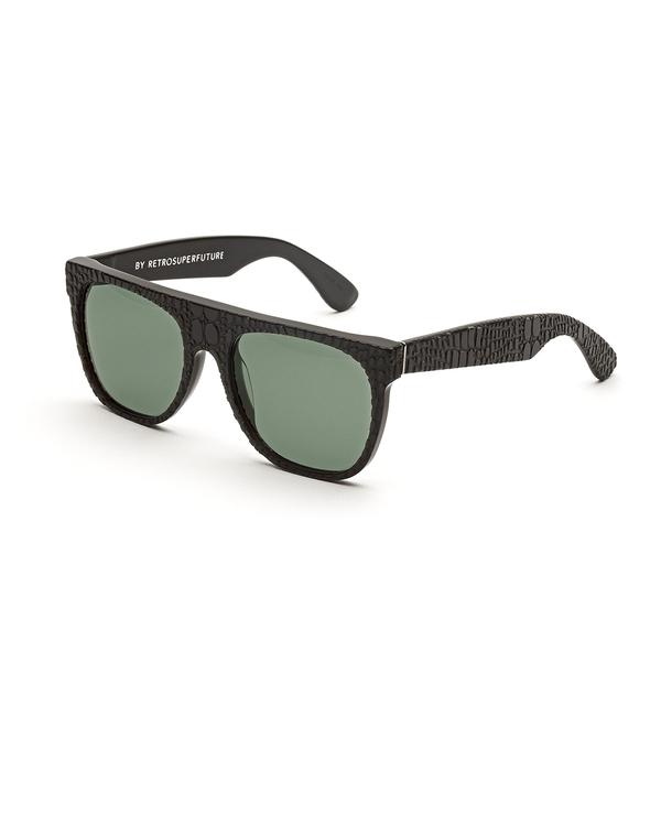 RetroSuperFuture Flat Top Smeralda Sunglasses in Grey