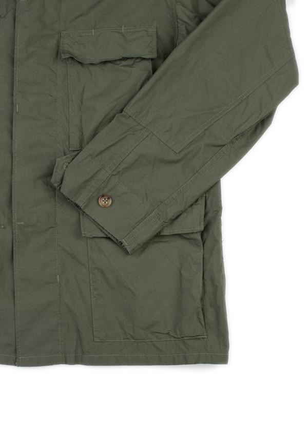 BDU Jacket Olive High Count Broadcloth