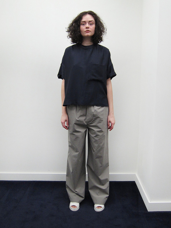 Unisex Suzanne Rae Oversized Pocket T, Viscose