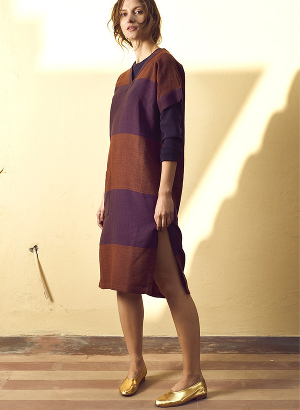 Seek Collective AW16 Pre-Order: Sonia Dress, handloom