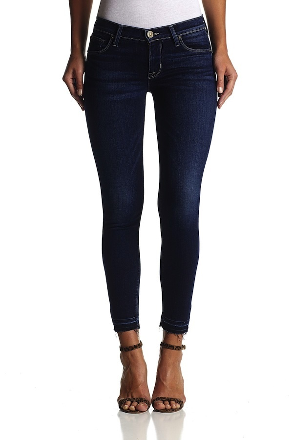 Hudson Krista Super Skinny Crop with Release Hem