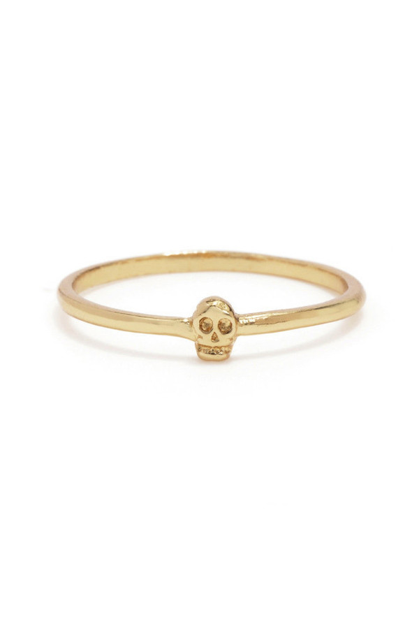 Bing Bang NYC Tiny Skull Ring