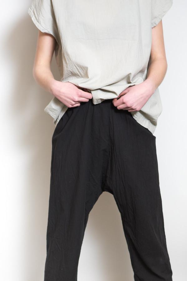 Uzi NYC Drop Crotch Pant