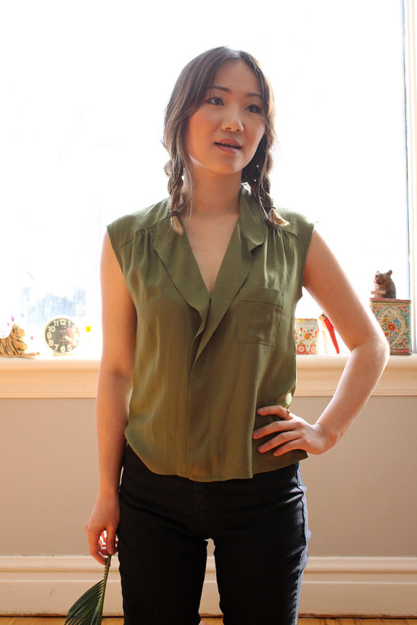 Dagg and Stacey Scout Top (Army)
