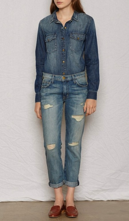 Current Elliott The Fling Slim Cut Boyfriend Jean