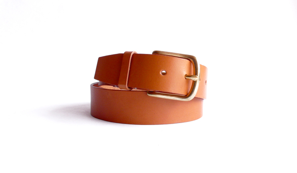 Sara Barner 1.5 in. Belt - Tan