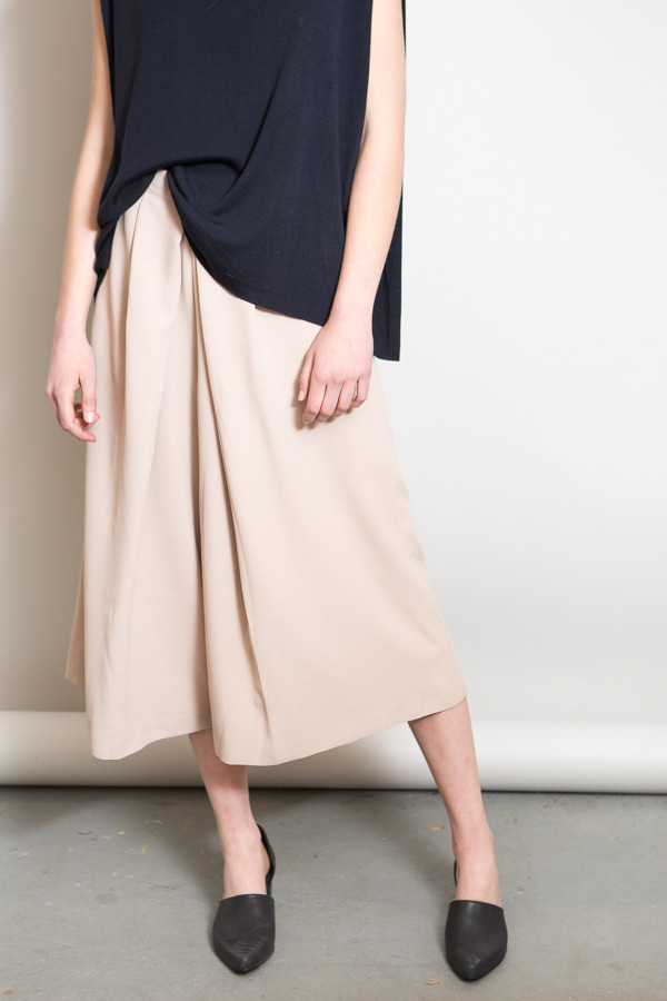 Achro Pleated Wide Leg Culottes