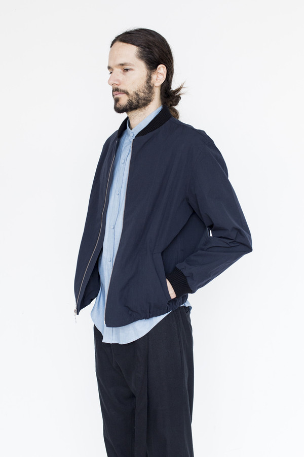 Assembly Cotton Zip Bomber