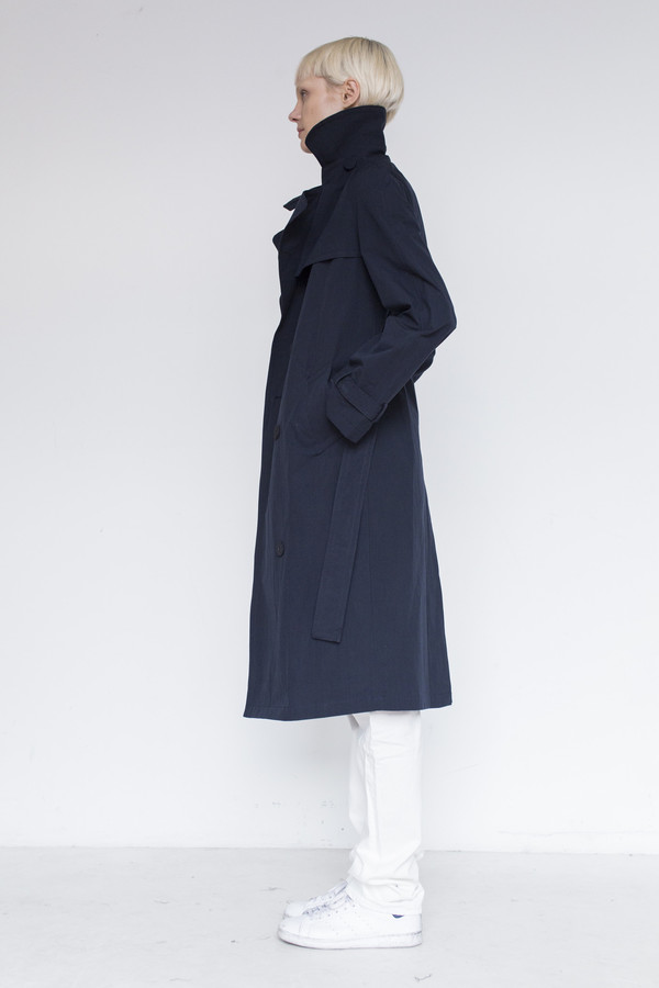 Assembly Cotton Trench Coat