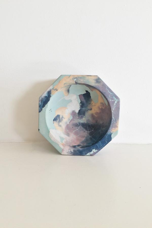 Concrete Cat Octavia Ashtray - Mint