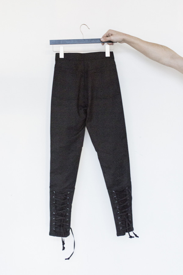 Title A Suiting Lace Up Pant