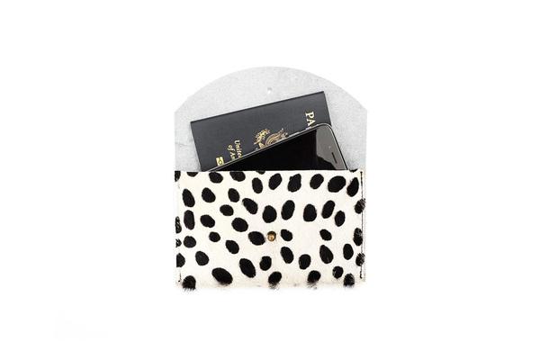 Primecut SALT + PEPPER PASSPORT CLUTCH