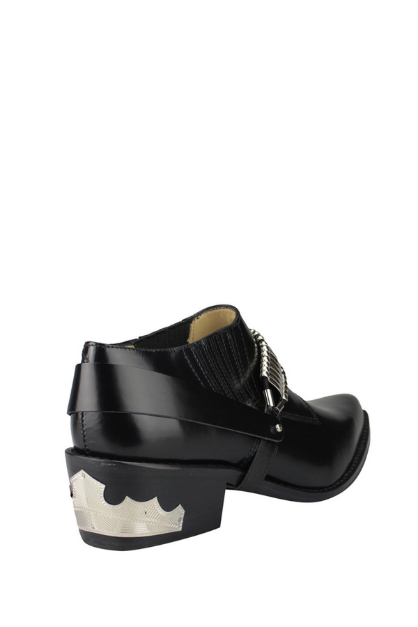 Toga Pulla Leather Removable Harness Shoe Boot