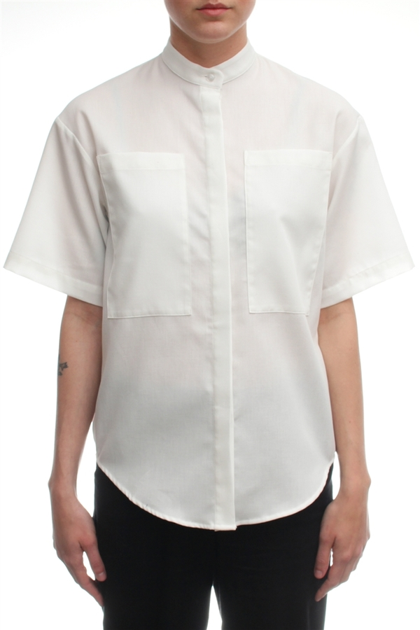 Nomia Boxy Pocket Shirt
